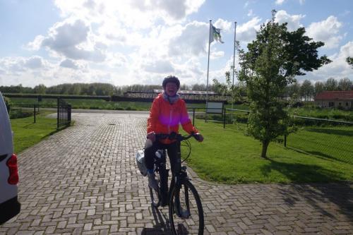 Eind punt Dag 2 Tour de Classique 2018 Maria Johanna Hoeve Noordeloos
