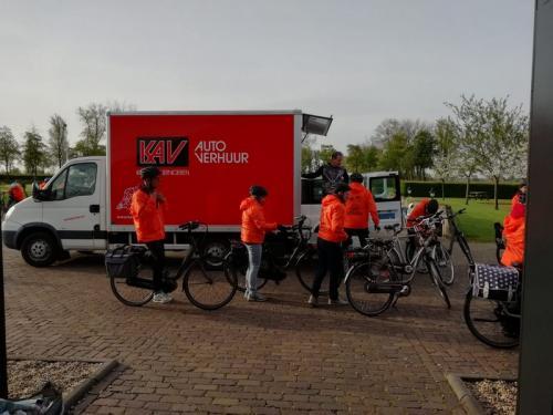 Vertrek maria Johanna Hoeve Noordeloos op naar Fort Lunet IV te Utrecht