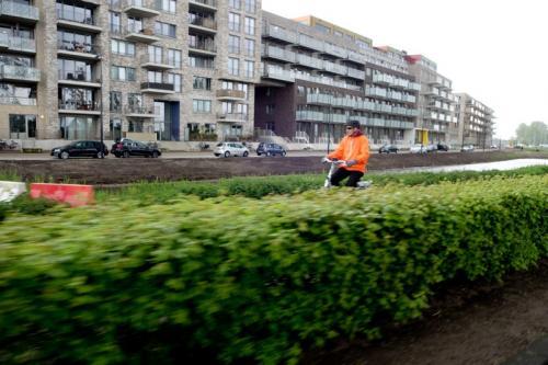 Tussen stop IJburg 2 (3)